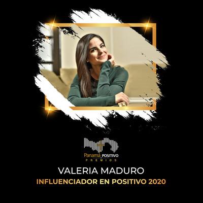 Valeria Maduro - Influenciador en Positivo 2020